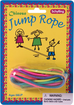 jump rope, chinese jump rope, gift, great playground toy