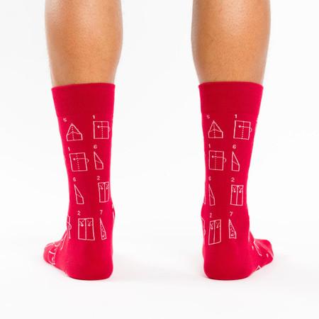 socks, men's socks, novelty, retro