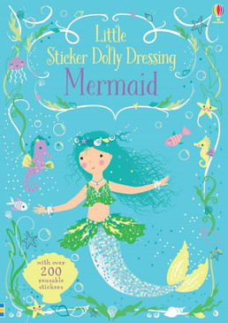 stickers, mermaids, dolly, little sticker dolly, books for kids