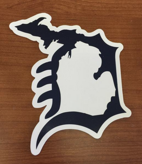michigan, michigan pride, detroit, detroit d, deluxe, local, sticker