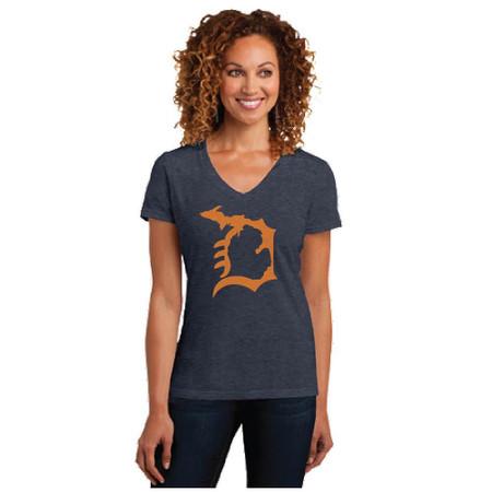 michigan, michigan pride, detroit, detroit d, deluxe, local, tshirt, t-shirt, clothing