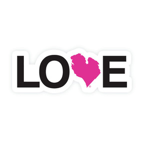 michigan, love, sticker, little things, small gifts