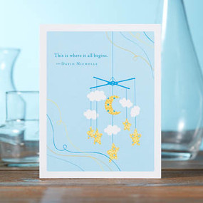 card, celebration, greeting cards, recycled material, gift for baby shower