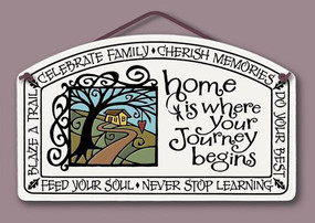 home decor, decoration, tile, wall tile, hanging tile, home, inspirational, housewarming gift