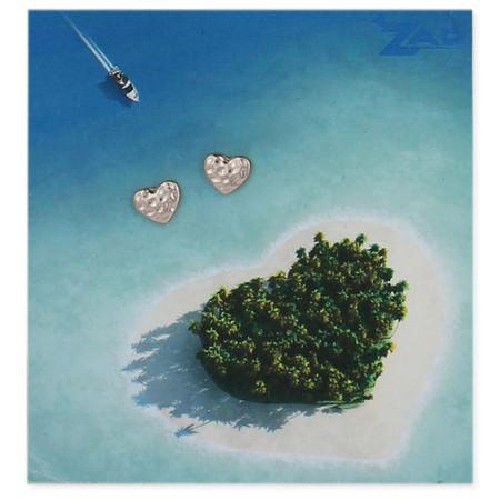 earrings, heart, unique, gift, great gift for girlfriend