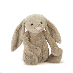 "large beige bunny 15"""