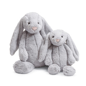 medium grey bunny 12""