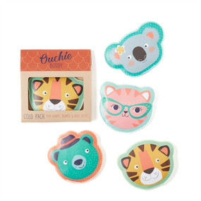 These sweet and reusable gel packs can fix any boo boo your little one has! Made by Twos Company