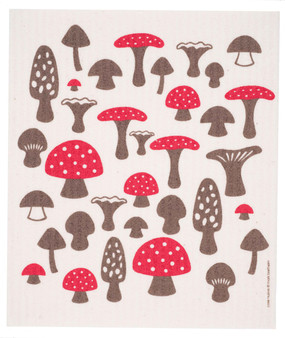 Swedish Dish Cloth Mushrooms