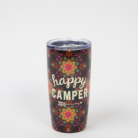 happy camper water tumbler