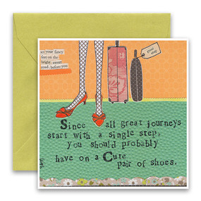 since all great journeys | inspirational card