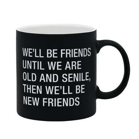 The Hilarious Say What? Over The Hill mugs are are large, laughable and great birthday or retirement gifts. This high quality mug comes packaged in an attractive one piece gift box.