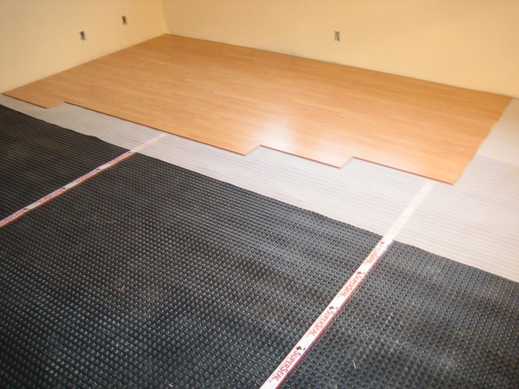 Click Here to buy SUPERSEAL Warm N Quiet Subfloor