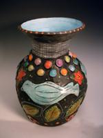 Bluebird Vase058