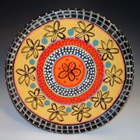 Flower Platter 817