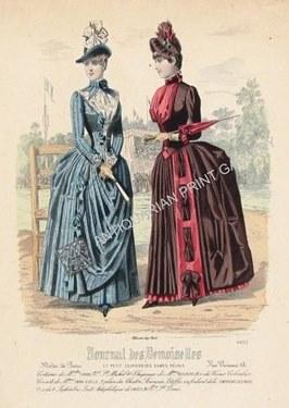 Fashion Plate Illustration