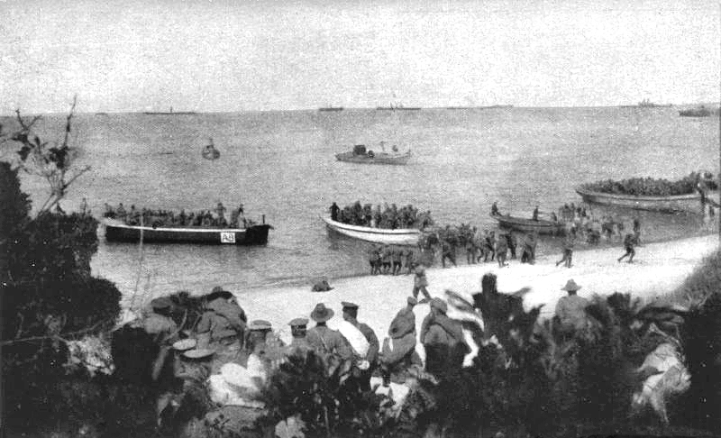 ANZAC, Gallipoli 1915