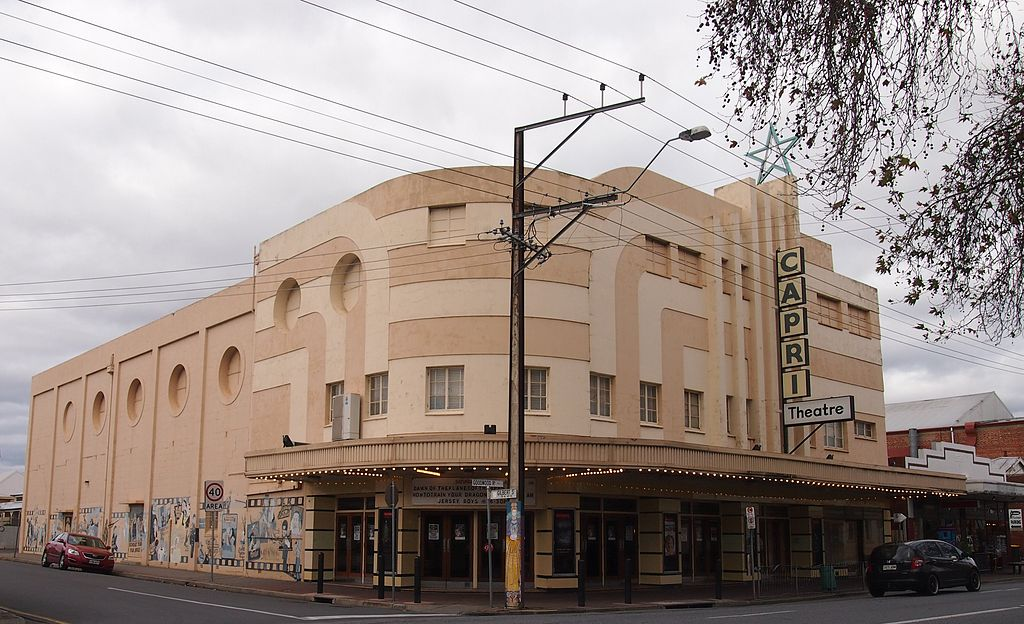 Capri Cinema, Goodwood, Adelaide, Soth Australia.