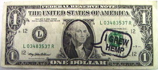 George Washington, Hemp