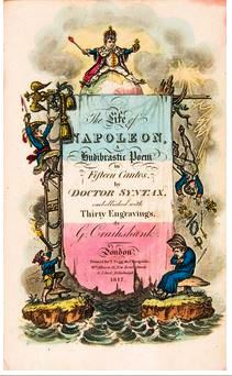 Title page by Caricaturist George Cruikshank
