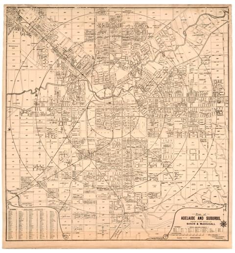 Adelaide CBD by WG Fuller c1910 Antiquarian Print Gallery