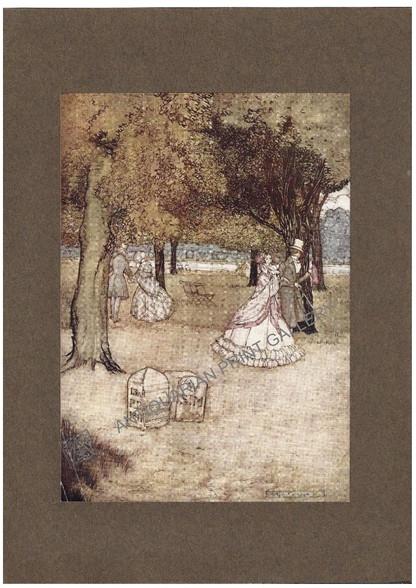 """Peter Pan in Kensington Gardens"" illustrated by Arthur Rackham 1906"