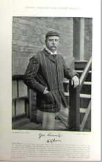 """H.G. Owen"" Antique Photogravure, 1897"