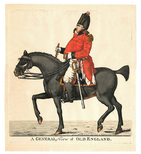 Archival Limited Edition Giclee Print after the Original finely coloured etching drawn, etched and published by Robert Dighton (1752-1814)    Published Charing Cross, 1808