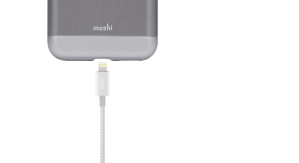 Moshi Integra USB Cable with Lightning Connector - White