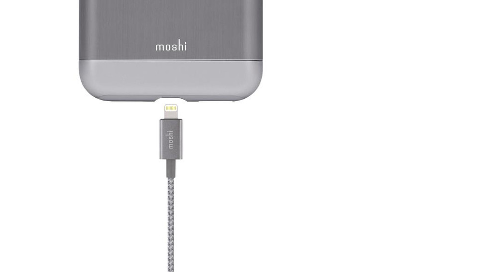 Moshi Integra USB Cable with Lightning Connector - Black