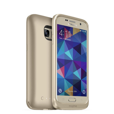 mophie juice pack for Galaxy S7 - Gold