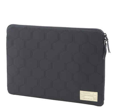 "Hex Sleeve for 13"" MacBook Air / MacBook Pro Retina - Empire Black Quilt"