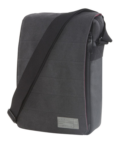 Hex Infinity Cross Body - Charcoal Canvas