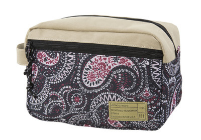 Hex Dopp Kit - Natural Paisley