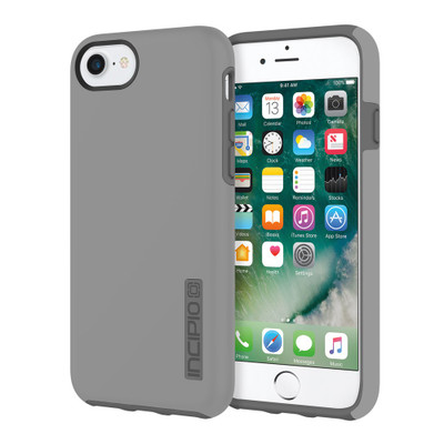 Incipio DualPro for iPhone 7 - Gray / Charcoal