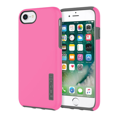 Incipio DualPro for iPhone 7 - Pink / Charcoal