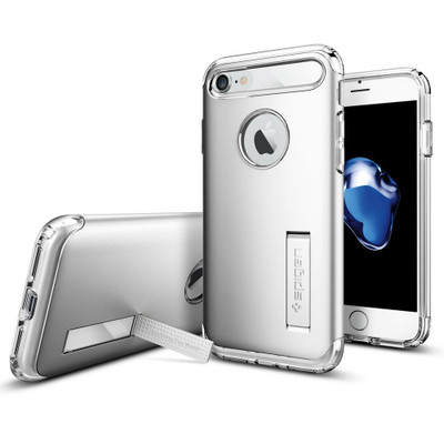 Spigen Slim Armor Case for iPhone 7 - Satin Silver