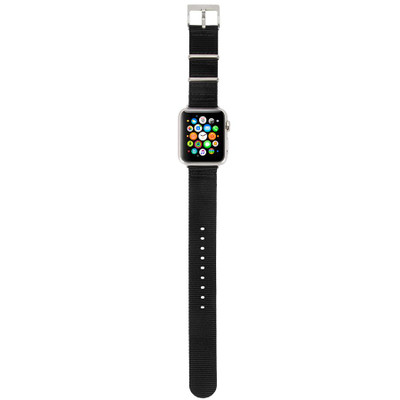 Incase Nylon Nato Band for Apple Watch 42mm - Black