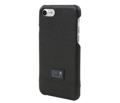 Hex Focus Case for iPhone 7 - Black Leather