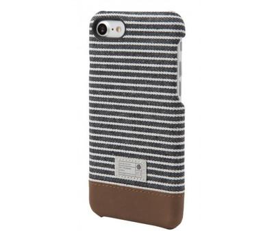 Hex Focus Case for iPhone 7 - Black / Gray Stripe