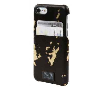 Hex Solo Wallet for iPhone 7 Plus - Black / Gold