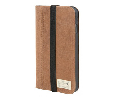 Hex Icon Wallet for iPhone 7 - Brown