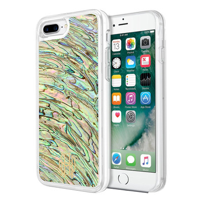 House of Harlow 1960 Shell Case for iPhone 7 Plus - Abalone / Multi