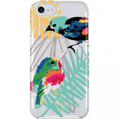Vera Bradley Flexible Frame Case for iPhone 7, 6S / 6 - Mini Birds Multi Glitter