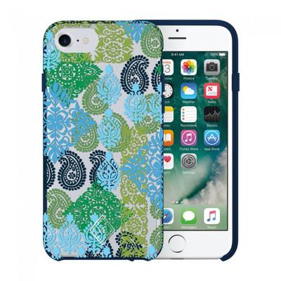 Vera Bradley Flexible Frame Case for iPhone 7, 6S / 6 - Caribbean Sea Multi Blue