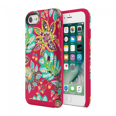 Vera Bradley Flexible Frame Case for iPhone 7, 6S / 6 - Rumba Floral Multi / Red