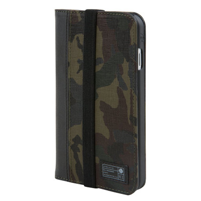 Hex Icon Wallet for iPhone 7 - Camo Leather Reflective