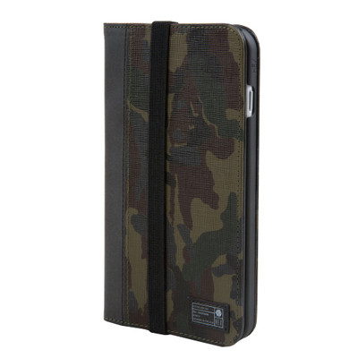 Hex Icon Wallet for iPhone 7 Plus - Camo Leather Reflective