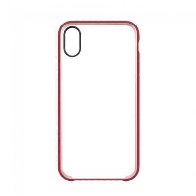 Incase Pop Case for iPhone X - Clear / Red