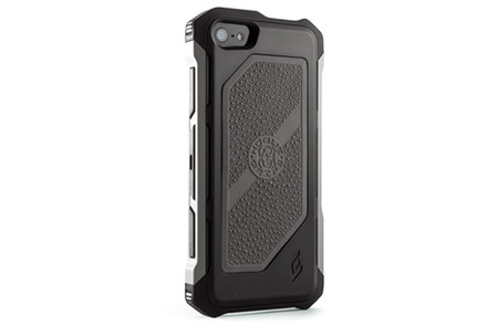 Element Hogue Rogue Black Ops Case for iPhone 5S / 5 - black / gun metal